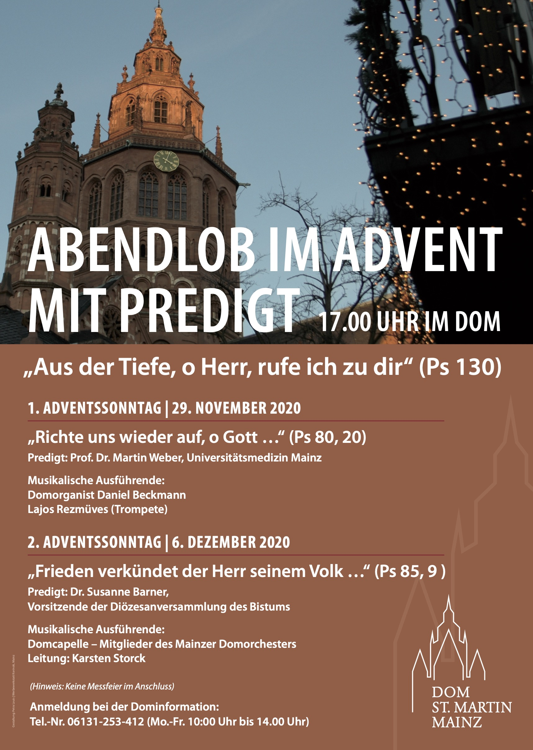 Abendlob_im Advent mit Predigt_2020 (c) Bistum Mainz