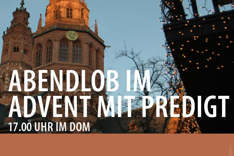 Abendlob im Advent (c) Bistum Mainz