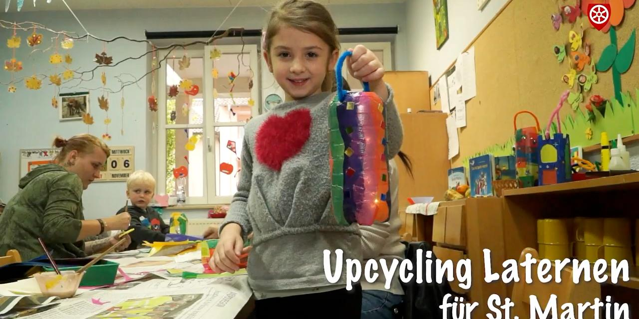 Upcycling- Laternen fur St. Martin (c) Bistum Mainz