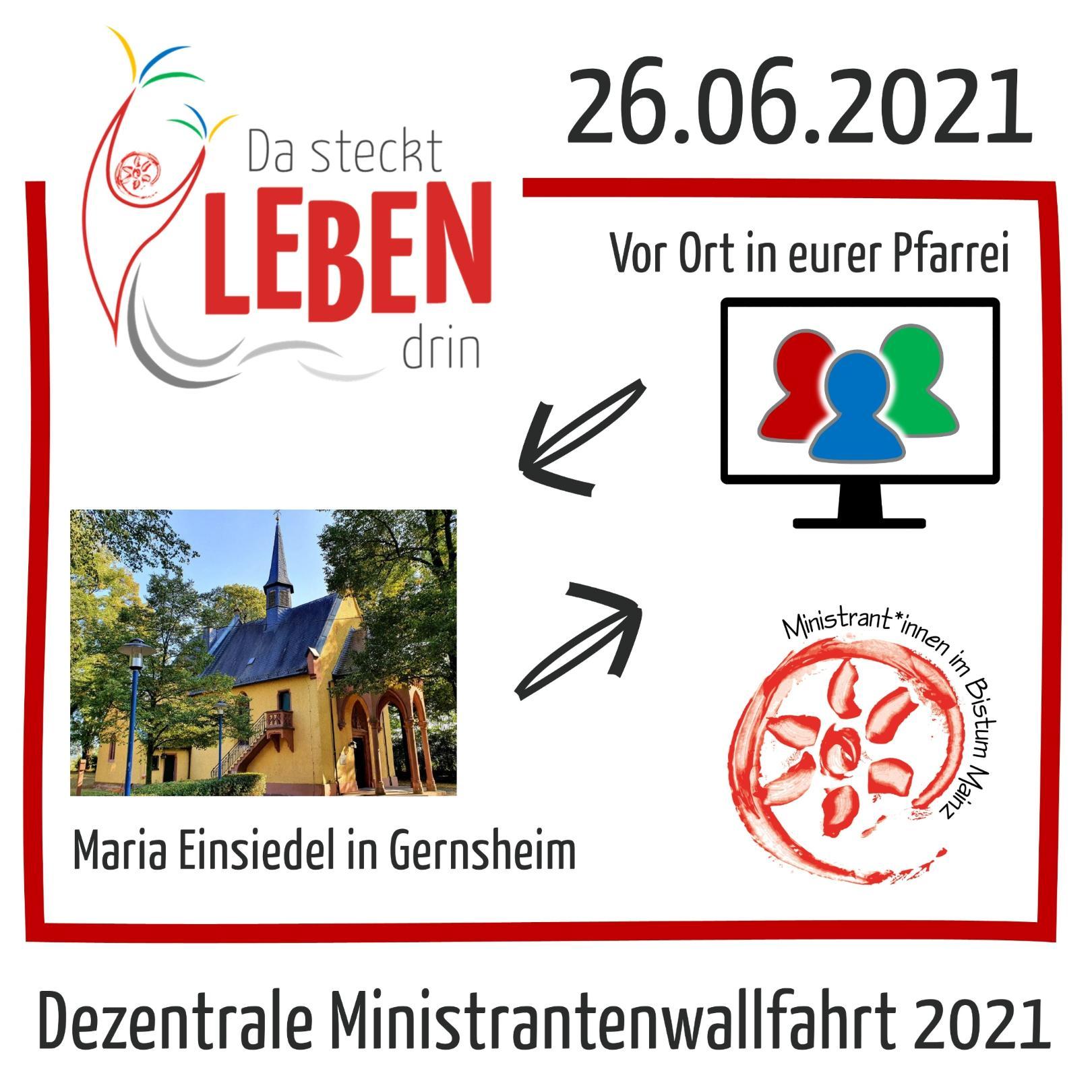 dezentrale Miniwallfahrt (c) Referat Ministrant*innen, Bistum Mainz