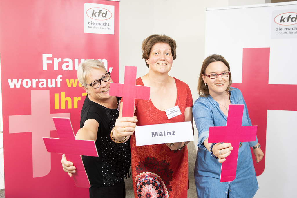 Start der Verbandsoffensive in Mainz (c) Kai Herschel kfd Bundesverband