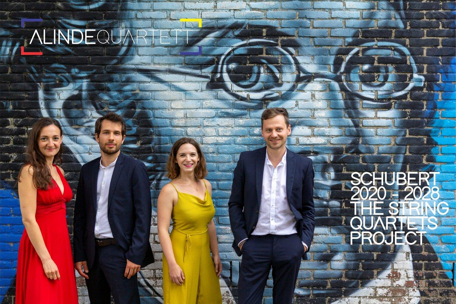 alinde quartett - schubert project