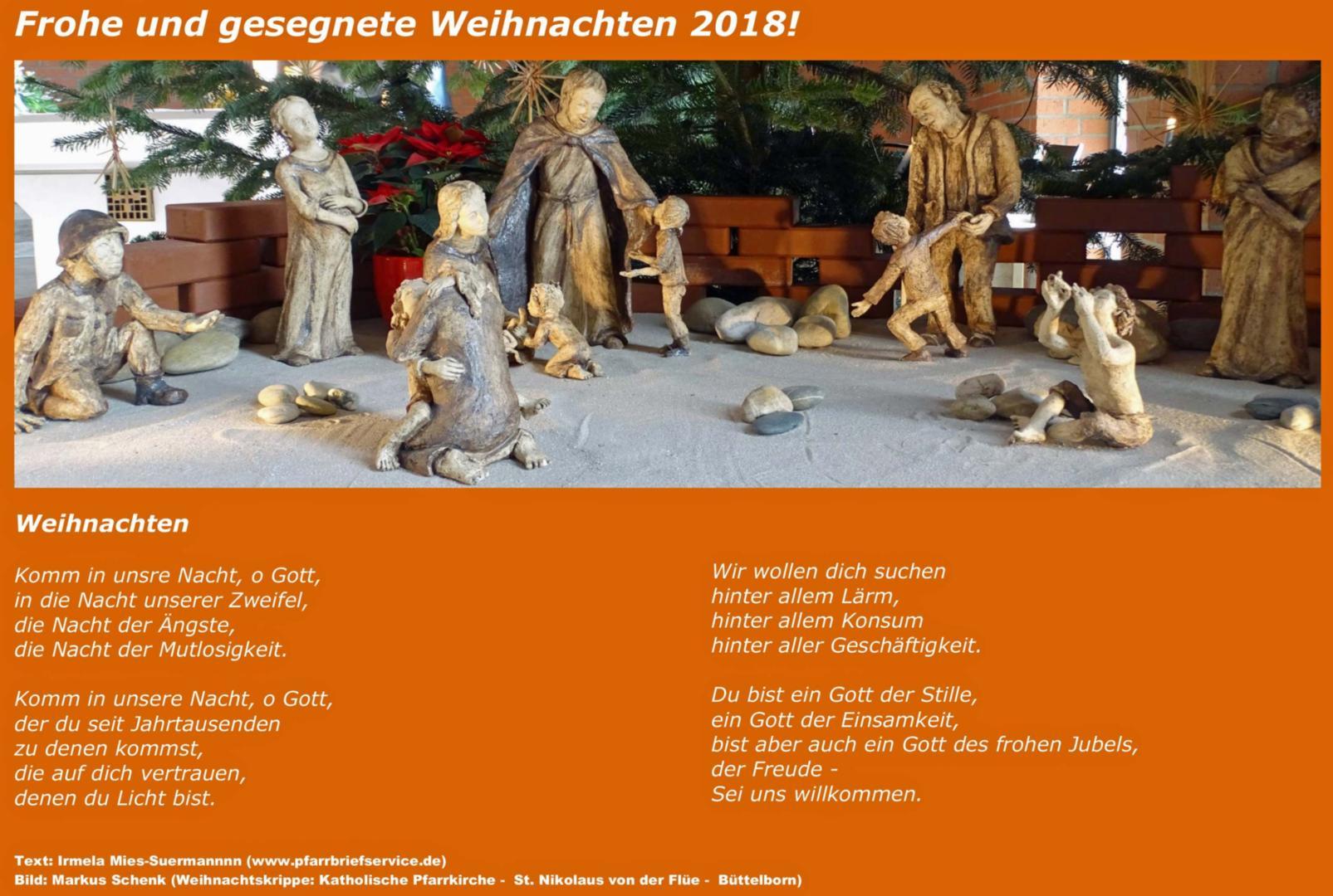 Frohe Und Gesegnete Weihnachten.Frohe Und Gesegnete Weihnachten Pfarrei St Nikolaus Von Der Flüe