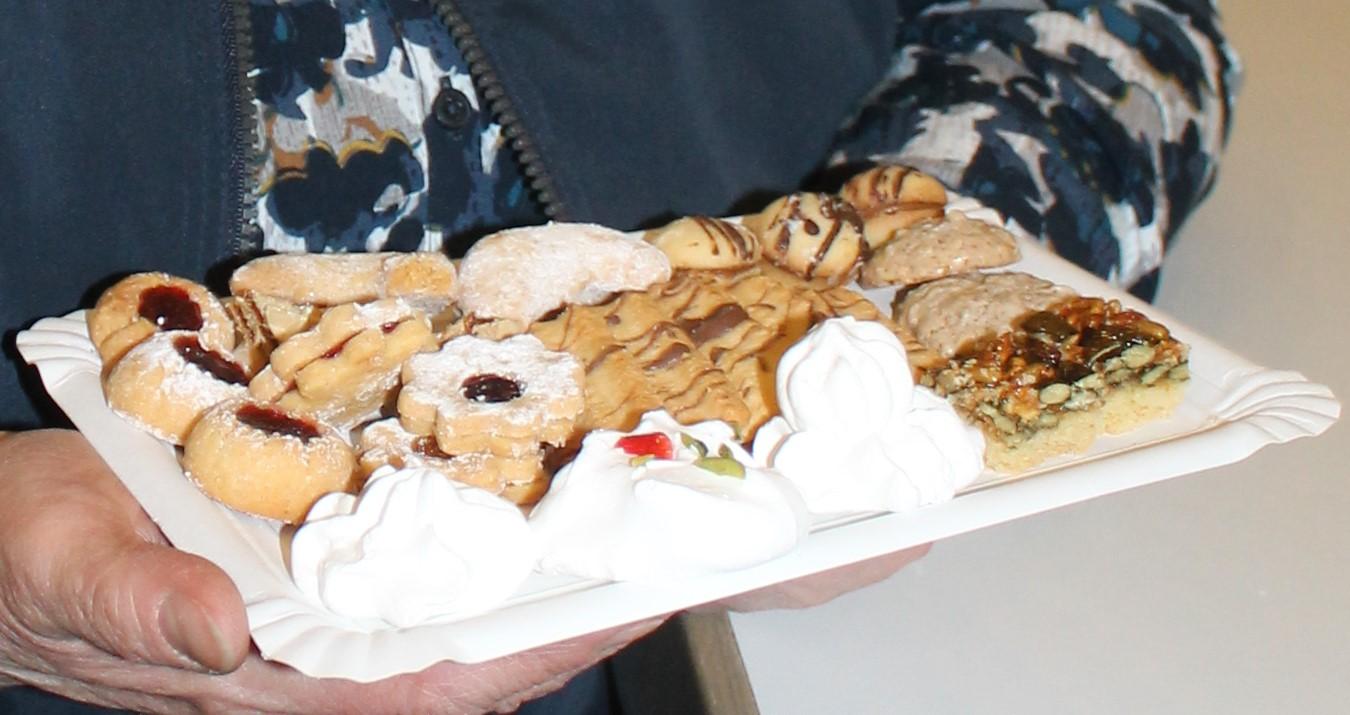 Gedicht Weihnachtsgebäck.Weihnachtsplätzchen Und Kaffeeduft In St Stephan Pfarrei Griesheim