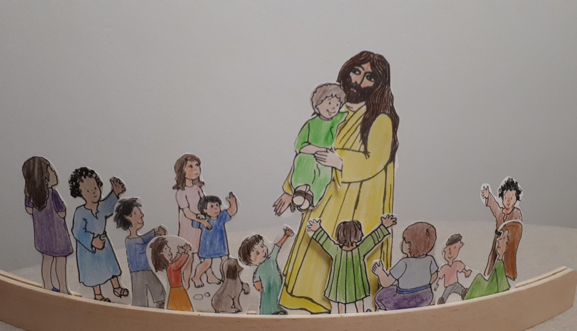 Video Jesus segnet Kinder (c) Monika Daus