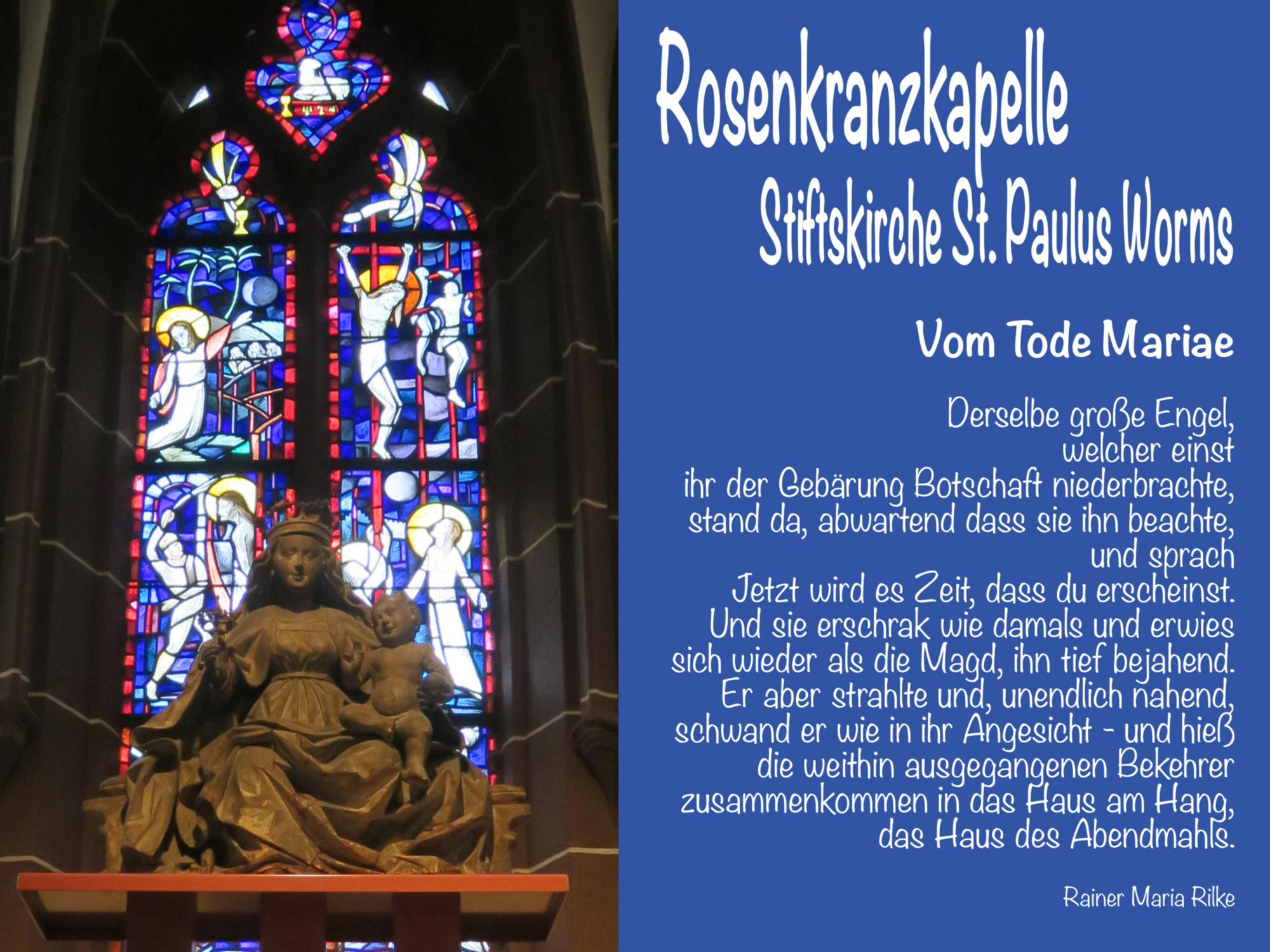 Rosenkranzkapelle (c) Dekanat Worms