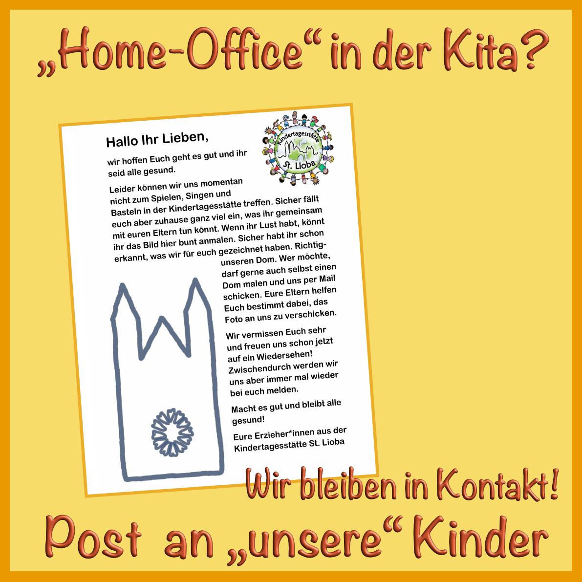 Brief An Kindergartenkinder Von Erzieherin