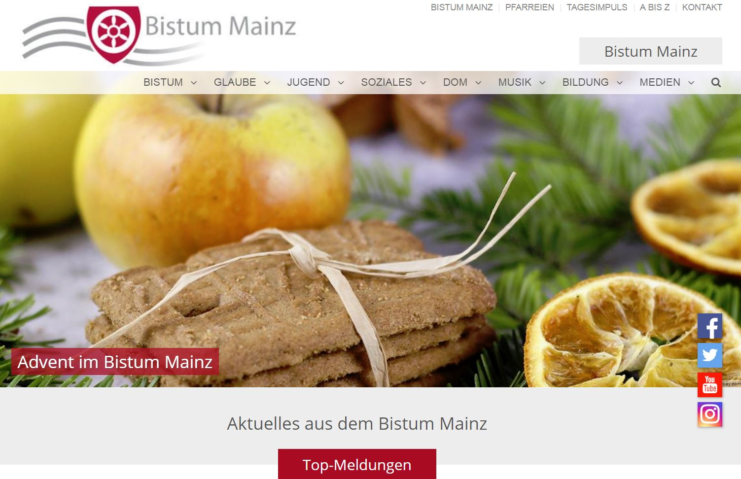 Relaunch im Advent (c) Bistum Mainz
